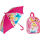 more details on Disney Princess Backpack and Umbrella - 3+ years.