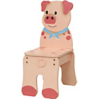 more details on Fantasy Fields Happy Farm Chair - Pig.