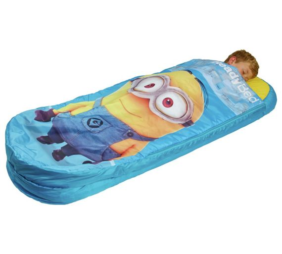 Inflatable Beds Argos: Buy Minions Junior ReadyBed Airbed And Sleeping Bag At