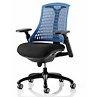 more details on Arnold Flex Task Height Adjustable Chair - Blue.