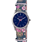 more details on Kahuna Ladies' Blue Flower Strap Watch.