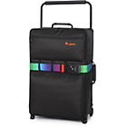 more details on IT Luggage World's Lightest Medium 2 Wheel Suitcase - Black.