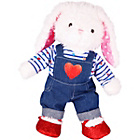 more details on Chad Valley DesignaBear Heart Dungarees and Top.