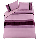 more details on Imperial Purple Stripe Bedding Set - Kingsize.