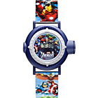 more details on Marvel Character Projection Quartz Plastic Strap Watch.