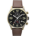 more details on Accurist Men's Pilot Style Brown Leather Strap Watch.