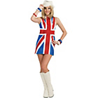 more details on British Invasion Costume - Size 10-12.