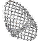 more details on Sterling Silver Cubic Zirconia Sheild Ring.