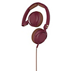 more details on Skullcandy Lowrider On Ear with Mic - Maroon.