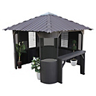 more details on Canadian Spa Frazer Synthetic Spa Gazebo/Enclosure.
