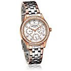 more details on Rotary Ladies' Rose Two Tone Multi Dial Watch.