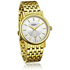 more details on Rotary Men's Slim Gold Plated Bracelet Watch.