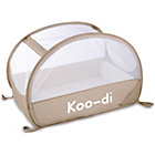 more details on Koo-di Pop Up Bubble Travel Cot - Café Crème.