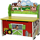 more details on Fantasy Fields Happy Farm Storage Bench.