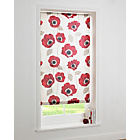 more details on Elissia Poppy Roller Blind - 4ft - Cream and Red.