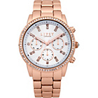 more details on Lipsy Ladies Rose Tone Bracelet Watch.
