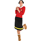 more details on Popeye Olive Oyl Costume - Size 12-14.
