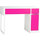 more details on Eliza Tinsley Seneca Modern Office Workstation - Pink.
