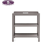 more details on Obaby Open Changing Unit - Taupe Grey.