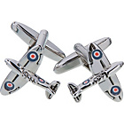 more details on Novelty Spitfire Aeroplane Cufflinks.