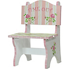 more details on Fantasy Fields Crackled Rose Time Out Chair.