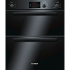 more details on Bosch HBN13B261B Double Electric Oven - Black.