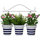 more details on Nautical Stripe Wall Planter.