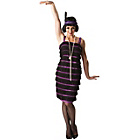 more details on 1920's Flapper Costume - Size 12-14.