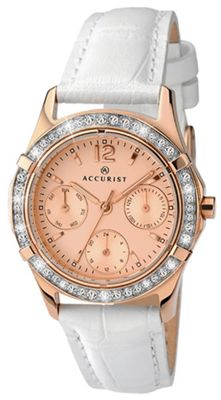 buy accurist gold and white