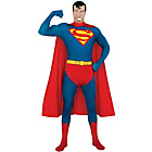 more details on DC Super Heroes Superman 2nd Skin Costume - Medium.