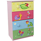 more details on Fantasy Fields Magic Garden 4 Drawer 8 Handle Chest.