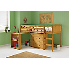 more details on Kelsey Pine Mid Sleeper Bed & Desk with Ashley Mattress.