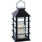 more details on Heart of House Lima Black Solar Lantern Light.