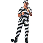 more details on Prisoner Costume - 38-40 Inches.
