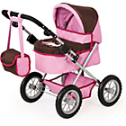 more details on Trendy Pink/Brown Dolls Pram.