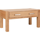 more details on Heart of House Alston 1 Drawer Coffee Table - Solid Oak.