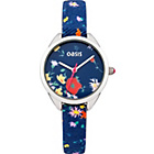 more details on Oasis Ladies Floral Black Strap Watch.