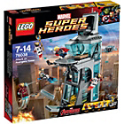 more details on LEGO Super Heroes Attack on Avengers Tower - 76038.