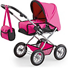 more details on Combi Grande Pink/Black Trim and Fairy Pram.