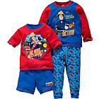 more details on Fireman Sam Boys' Blue 2 Pack Pyjamas - 2-3 Years.