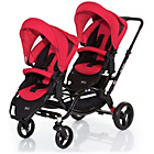 more details on ABC Design Zoom Tandem Pushchair - Cranberry.