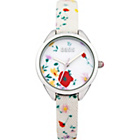 more details on Oasis Ladies Floral White Strap Watch.