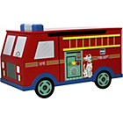 more details on Fantasy Fields Fire Engine Trunk on Wheels.