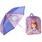 more details on Disney Sofia the First Backpack and Umbrella Set.