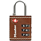 more details on Master Lock TSA Leather Effect 3 Digit Lock.