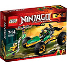 more details on LEGO Ninjago Jungle Raider - 70755.