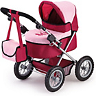 more details on Trendy Pink/Red Dolls Pram.