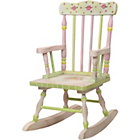 more details on Fantasy Fields Crackled Rose Rocking Chair.