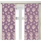 more details on Vantona Pippa Curtains 168x183cm - Plum.