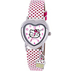 more details on Hello Kitty Pink Polka Dot Strap Watch.